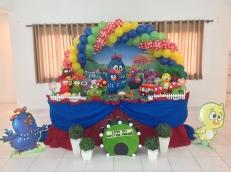 Galinha Pintadinha Tradicional - Winie Festas Decorações