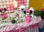Minnie Rosa Tradicional - Winie Festas Decorações