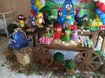 Galinha Pintadinha Rústica - Winie Festas Decorações