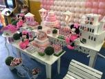 Minnie Rosa Clean - Winie Festas Decorações