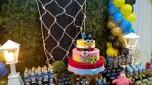 Bob Esponja Pirata Rústica - Winie Festas Decorações