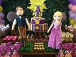 Enrolados (Rapunzel) Rústica - Winie Festas Decorações