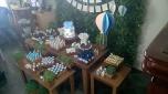 Balões Rústico - Winie Festas Decorações