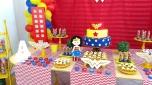 Mulher Maravilha 2 - Winie Festas Decorações